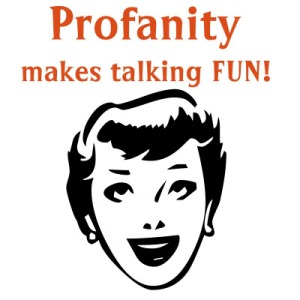 To curse or not to curse on pottymouth blogging the daily post fandeluxe Document