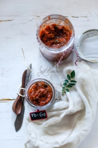 Tomato Pickles by Radikha of Just Homemade.