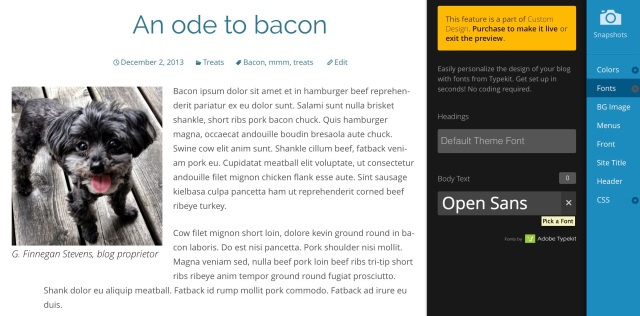 Open Sans has an airy, modern feel and offers great readability.