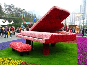 This is the kind of flowery I can get behind. (Flowery Piano by Andreas (CC BY-SA 2.0)